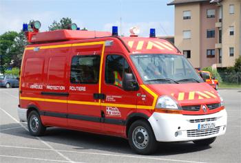 Véhicule de protection et de sécurité, Sapeurs-pompiers, Haute-Savoie (74)