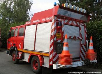 Véhicule de secours routier, Sapeurs-pompiers, Val-d'Oise