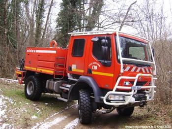 <h2>Camion-citerne pour feux de forêts - Sainte-Florine - Haute-Loire (43)</h2>