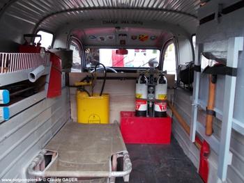 Véhicule pour interventions diverses, Sapeurs-pompiers, Moselle (57)