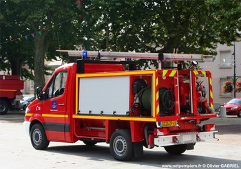 Véhicule de première intervention, Sapeurs-pompiers, Loiret (45)