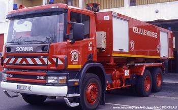 Véhicule porte-cellule, Sapeurs-pompiers, Charente