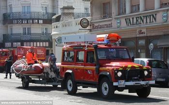 Véhicule de liaison, Sapeurs-pompiers, Pas-de-Calais (62)