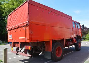 Dévidoir automobile, Sapeurs-pompiers, Eure (27)