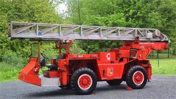 Echelle automatique tout terrain, Sapeurs-pompiers, Seine-Maritime (76)