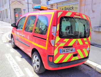 Véhicule de liaison, Sapeurs-pompiers, Indre (36)