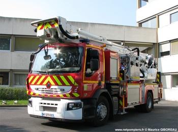Camion bras élévateur articulé, Sapeurs-pompiers, Oise (60)