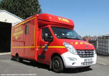 Véhicule poste de commandement, Sapeurs-pompiers, Aisne (02)