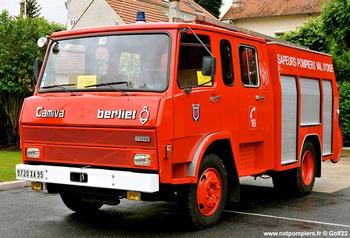 <h2>Fourgon-pompe tonne - Val-d'Oise (95)</h2>