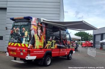 Véhicule d'information du public, Sapeurs-pompiers, Doubs (25)
