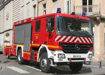 Fourgon dévidoir de grande puissance, Sapeurs-pompiers, Meurthe-et-Moselle (54)