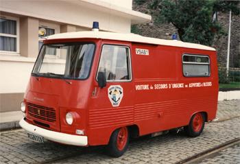 <h2>Véhicule de secours et d'assistance aux victimes - Brest - Finistère (29)</h2>