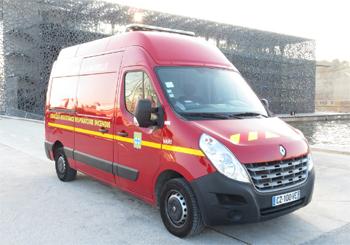 Véhicule d'assistance respiratoire incendie, Marins-pompiers de Marseille,  ()