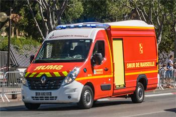 Ambulance de réanimation, Marins-pompiers de Marseille,  ()