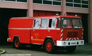 Fourgon-pompe dévidoir de grande puissance, Sapeurs-pompiers, Haut-Rhin (68)