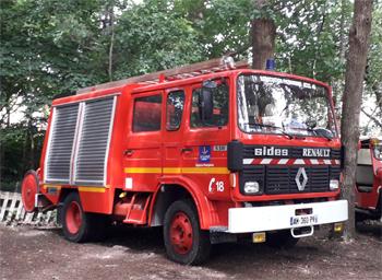 Fourgon-pompe tonne léger, Sapeurs-pompiers, Loiret (45)
