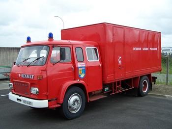 Dévidoir automobile, Sapeurs-pompiers, Hautes-Pyrénées (65)