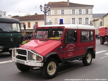 Véhicule de liaison, Sapeurs-pompiers, Dordogne (24)