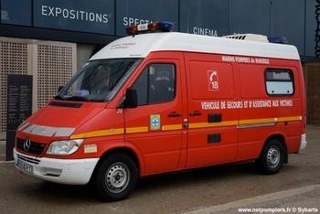 Véhicule de secours et d'assistance aux victimes, Marins-pompiers de Marseille, Bouches-du-Rhône