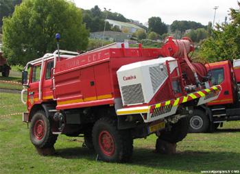 <h2>Camion-citerne pour feux de forêts - Sarthe (72)</h2>