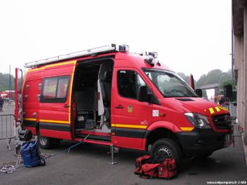 Véhicule GRIMP, Sapeurs-pompiers, Sarthe (72)