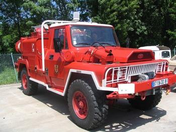 Camion-citerne pour feux de forêts, Sapeurs-pompiers, Tarn (81)
