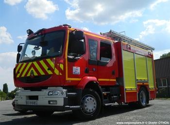Fourgon-pompe tonne secours routier, Sapeurs-pompiers, Cher (18)