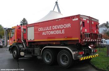 Véhicule porte-cellule, Sapeurs-pompiers, Loir-et-Cher (41)