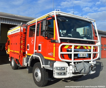 Camion-citerne rural, Sapeurs-pompiers, Morbihan (56)