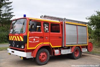 Fourgon-pompe tonne léger, Sapeurs-pompiers, Ain (01)