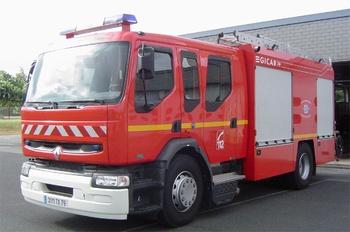 Véhicule mousse, Sapeurs-pompiers, Deux-Sèvres (79)