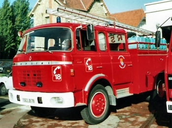 <h2>Fourgon-pompe tonne - Maisons-Laffitte - Yvelines (78)</h2>