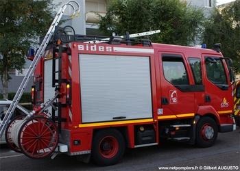 Fourgon-pompe tonne léger, Sapeurs-pompiers, Côte-d'Or