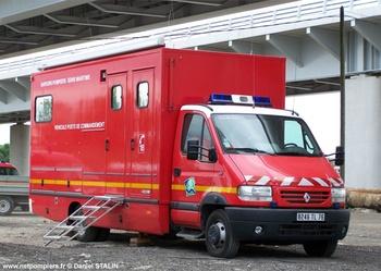 Véhicule poste de commandement, Sapeurs-pompiers, Seine-Maritime (76)