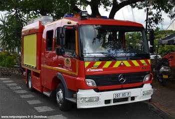 Fourgon-pompe tonne, Sapeurs-pompiers, Polynésie-Française (987)
