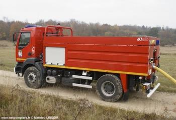 Camion-citerne de grande capacité, Sapeurs-pompiers, Meuse (55)