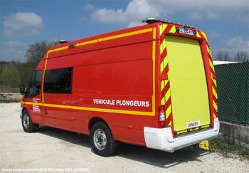 Véhicule de secours nautique, Sapeurs-pompiers, Haute-Savoie (74)