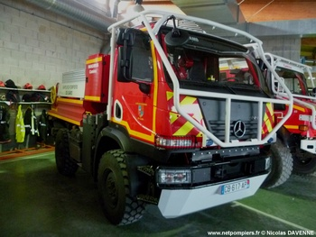 Camion-citerne pour feux de forêts léger, Sapeurs-pompiers, Gard (30)