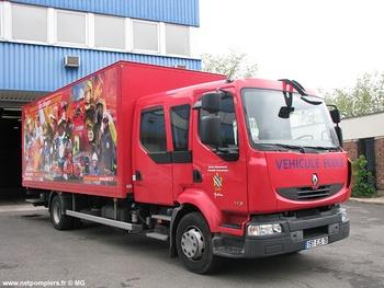 Véhicule de transport /Véhicule auto-école, Sapeurs-pompiers, Yvelines