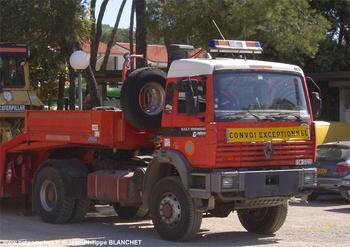 Véhicule tracteur, Formations militaires de la Sécurité civile, Var (83)