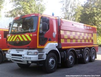 Camion-citerne de grande capacité, Sapeurs-pompiers, Isère (38)
