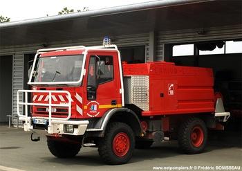 Camion-citerne pour feux de forêts, Sapeurs-pompiers, Charente-Maritime