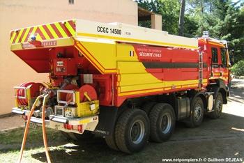 Camion-citerne de grande capacité, Formations militaires de la Sécurité civile, Var (83)