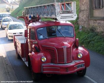 Echelle pivotante, Sapeurs-pompiers, Somme (80)