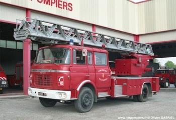 Echelle pivotante, Sapeurs-pompiers, Ardèche