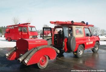 Camionnette d'incendie, Sapeurs-pompiers, Loire (42)