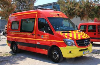 Véhicule de secours et d'assistance aux victimes, Marins-pompiers de Marseille,  ()