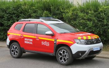 Véhicule radio médicalisé, Sapeurs-pompiers, Loire (42)