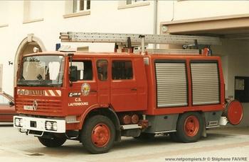 Fourgon-pompe tonne, Sapeurs-pompiers, Bas-Rhin (67)