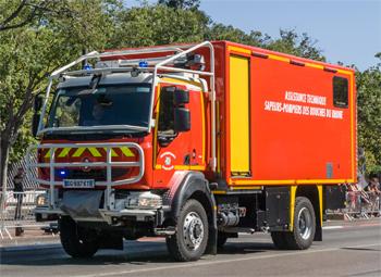 Véhicule d'assistance technique, Sapeurs-pompiers, Bouches-du-Rhône (13)